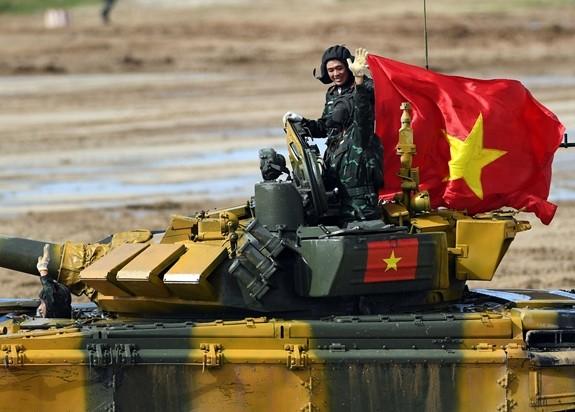 Đội tuyển Xe tăng Việt Nam sẵn sàng cho vòng Bán kết Army Games 2020