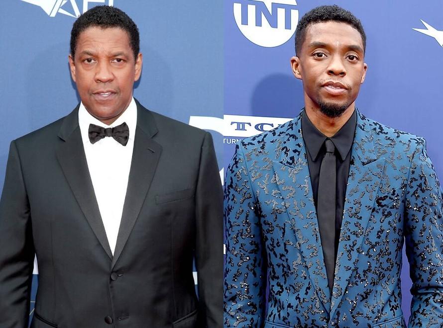 Tài tử Denzel Washington từng cưu mang 'báo đen' Chadwick Boseman