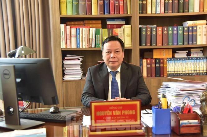 Trưởng Ban Tuyên giáo Thành ủy Hà Nội Nguyễn Văn Phong.