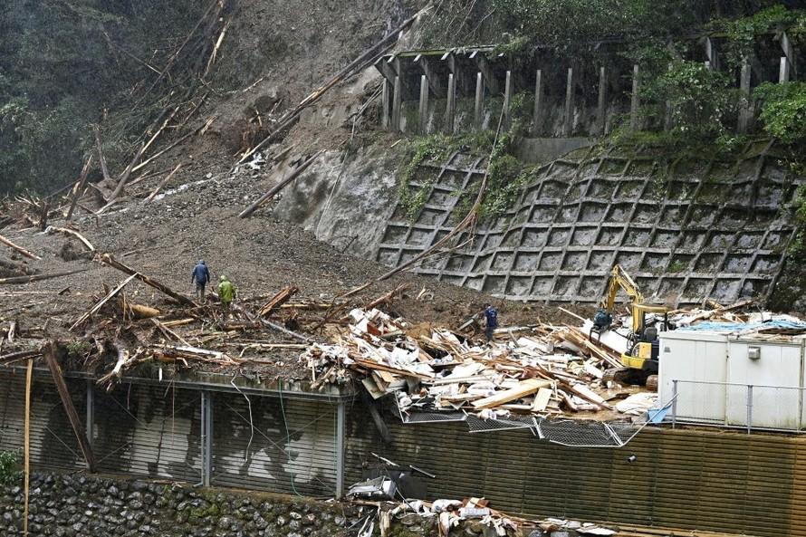 Hai thực tập sinh người Việt mất tích sau bão Haishen