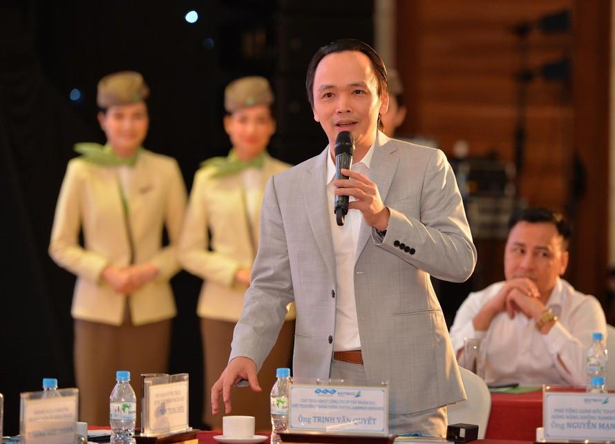 Ông Trịnh Văn Quyết - Chủ tịch Tập đoàn FLC, Chủ tịch Bamboo Airways