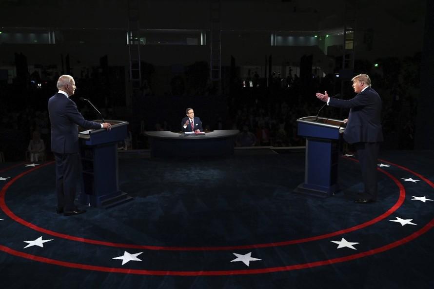 Những điểm nhấn trong cuộc tranh luận Trump-Biden