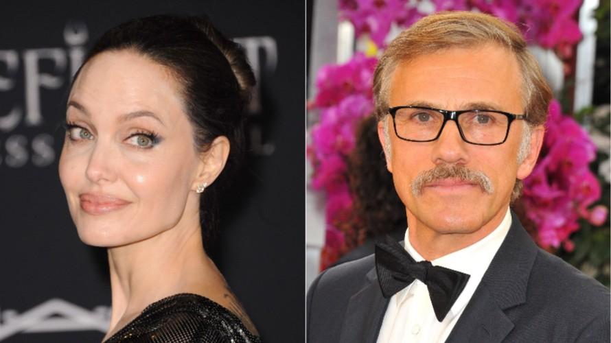 Angelina Jolie và Christoph Waltz đóng cặp trong tác phẩm chuyển thể 'Every Note Played'