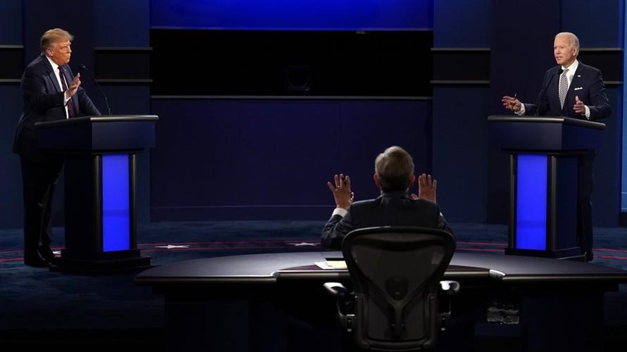 Ông Trump không còn cơ hội ngắt lời đối thủ khi tranh luận