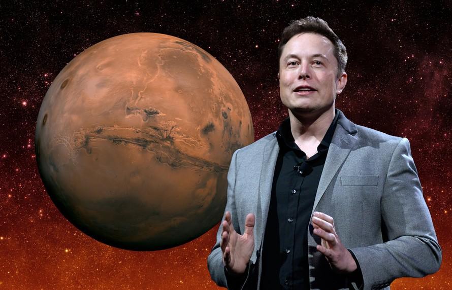 Công ty SpaceX có kế hoạch đưa Internet lên sao Hỏa