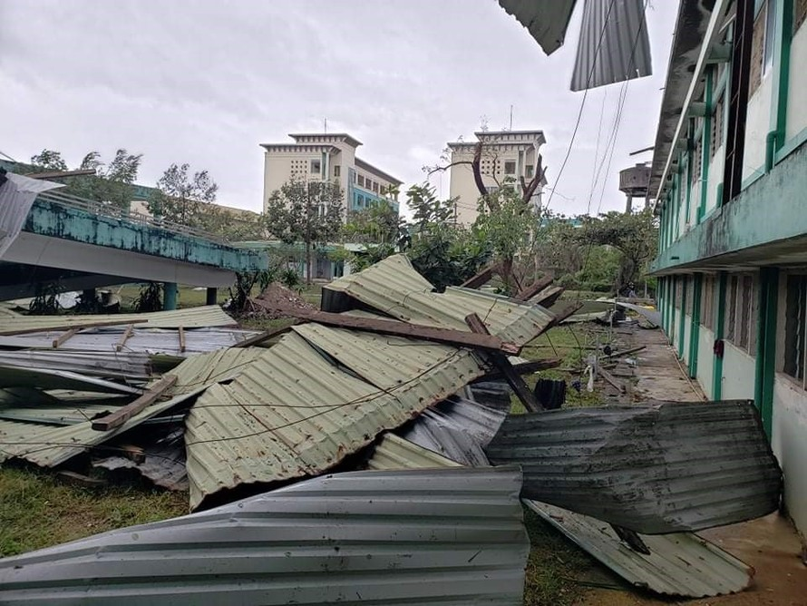 Quảng Nam thiệt hại 1.000 tỷ đồng do bão số 9