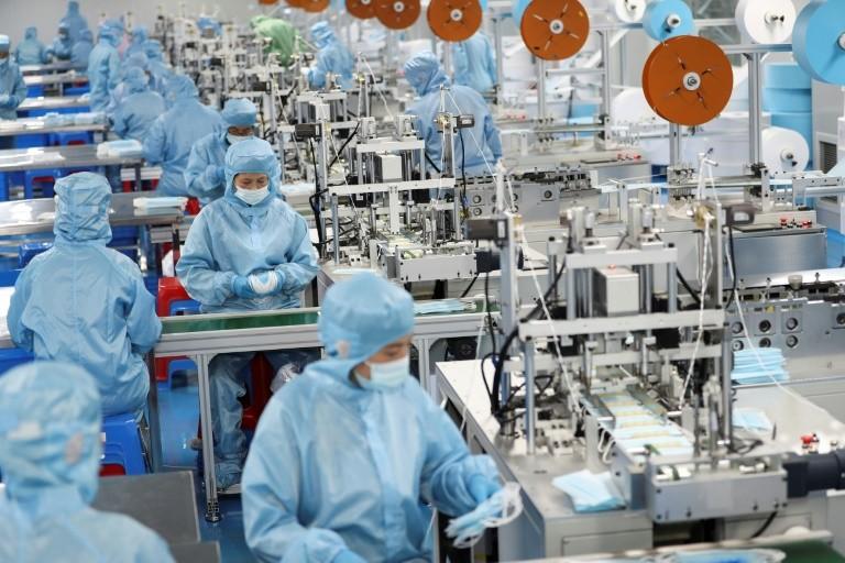 Tăng trưởng sản xuất Trung Quốc suy giảm