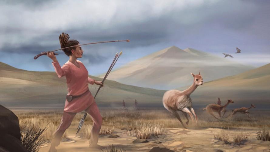 Phụ nữ châu Mỹ từng là thợ săn thú lớn