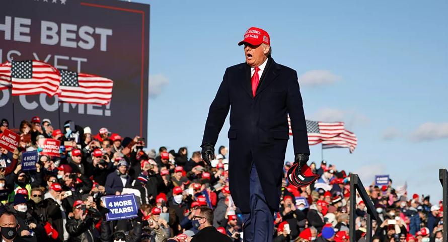 Tổng thống Trump: 'Hẹn gặp lại vào 4 năm tới'