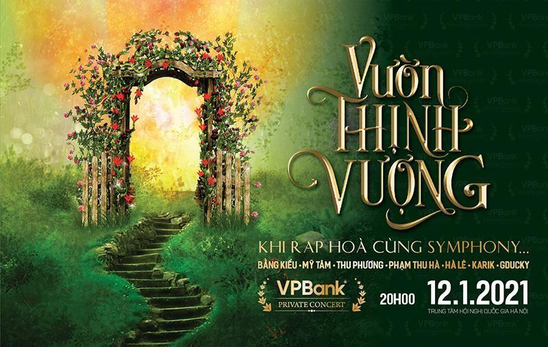 VPBank tổ chức đại nhạc hội 'Vườn Thịnh Vượng' tri ân khách hàng cuối năm