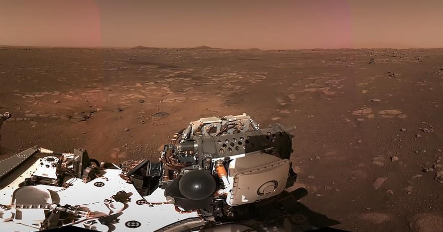NASA công bố video cuộc đổ bộ lên sao Hỏa