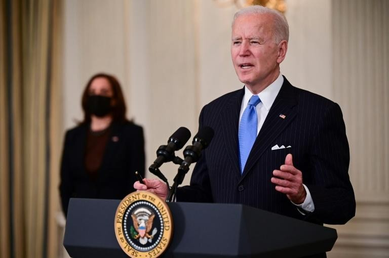 Tổng thống Biden cam kết nguồn cung vaccine