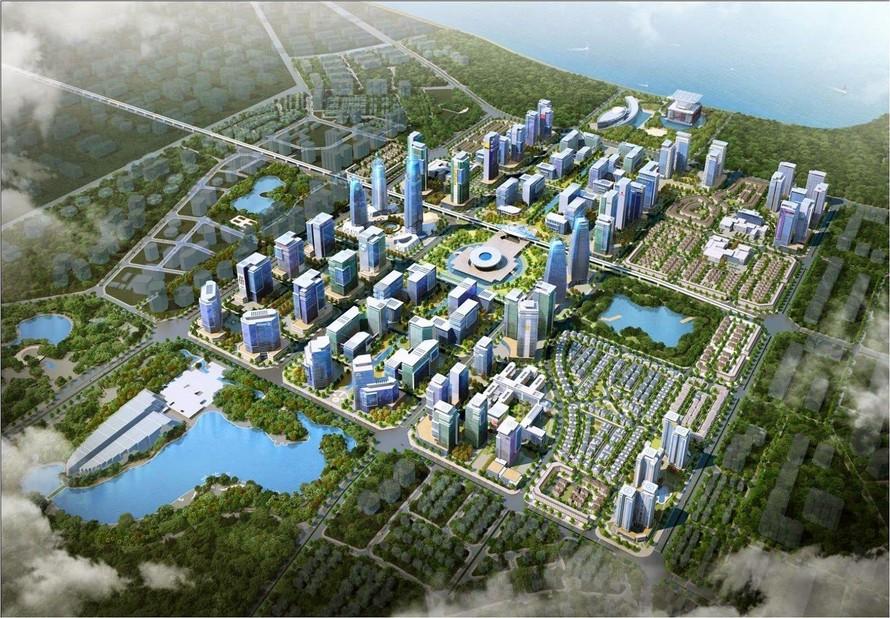 Tây Hồ Tây (Hà Nội) do Daewoo E&C đầu tư phát triển được đánh giá là điểm sáng trong quy hoạch không gian đô thị.