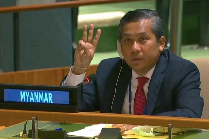 Tranh chấp ghế đại sứ Myanmar tại Liên Hợp Quốc