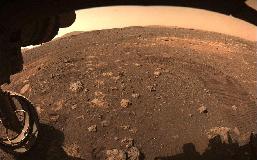Robot Perseverance chạy thử nghiệm trên sao Hỏa
