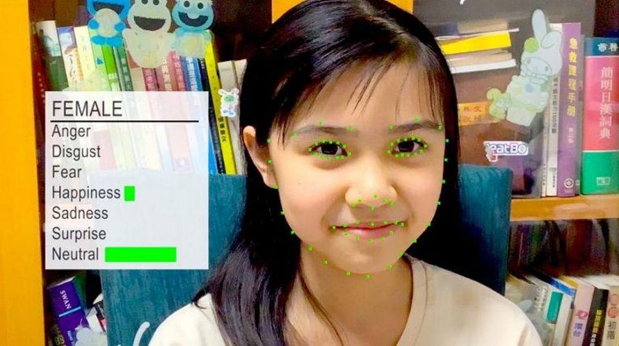 Công nghệ AI đọc cảm xúc của trẻ khi học bài