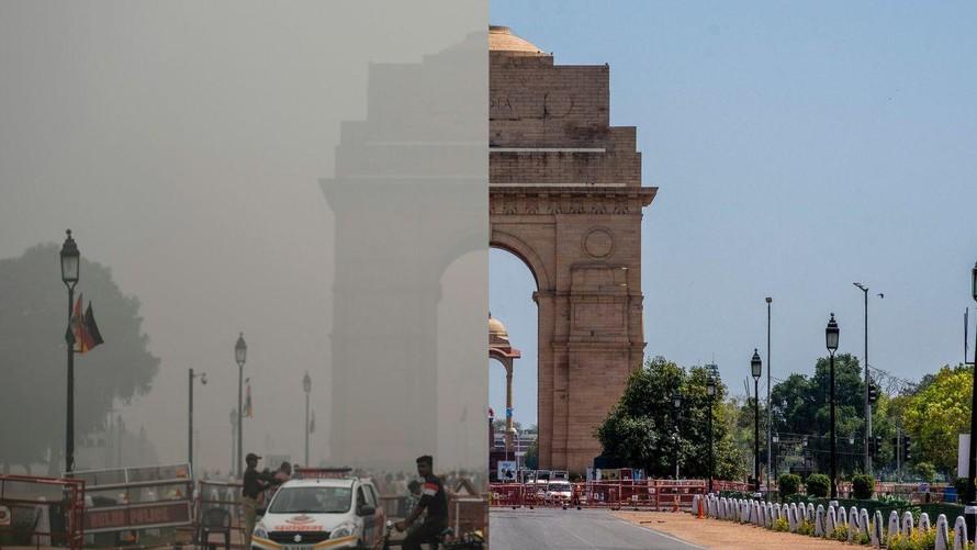 Đại dịch giúp cải thiện chất lượng không khí thế giới