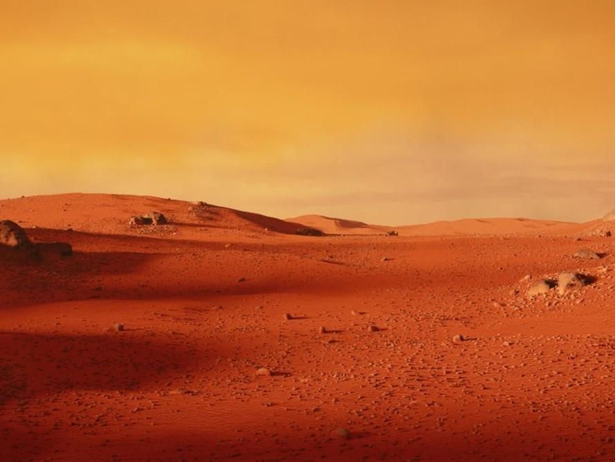Nước trên sao Hỏa bị chôn vùi dưới bề mặt