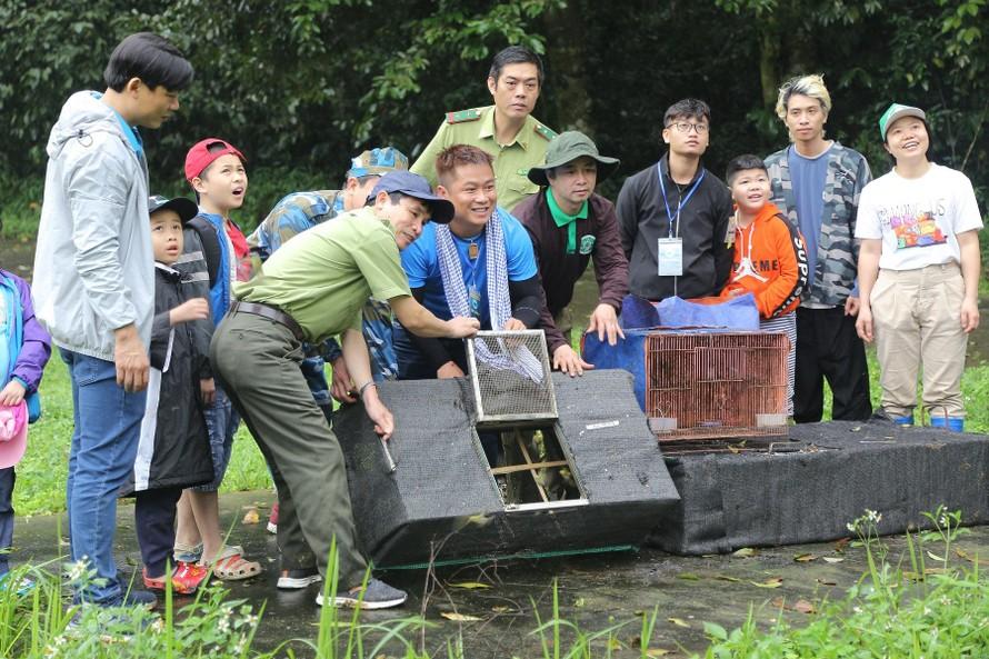 Tái thả 92 động vật hoang dã tại Vườn quốc gia Cúc Phương
