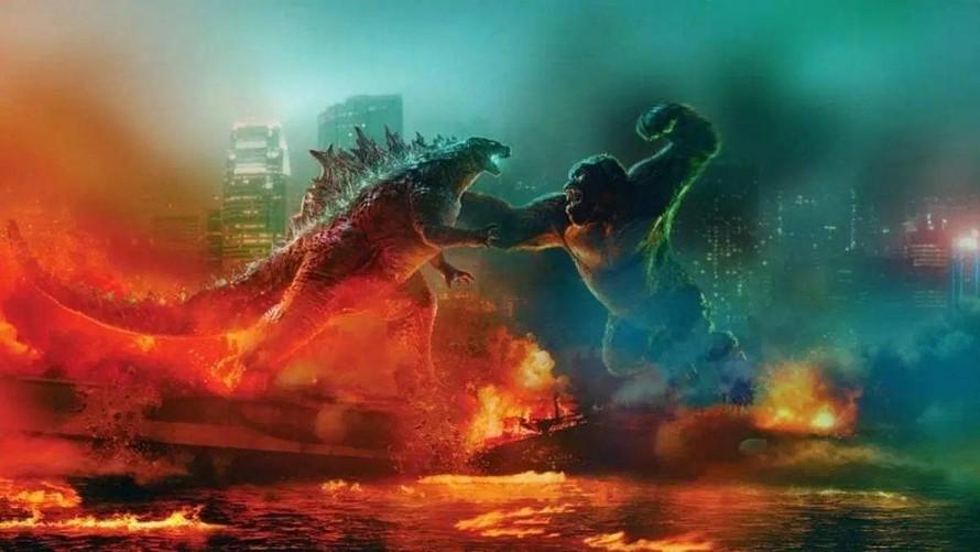'Godzilla Vs Kong' thống trị phòng vé toàn cầu