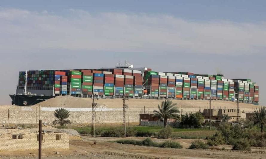 Ai Cập chấm dứt cuộc khủng hoảng kênh đào Suez