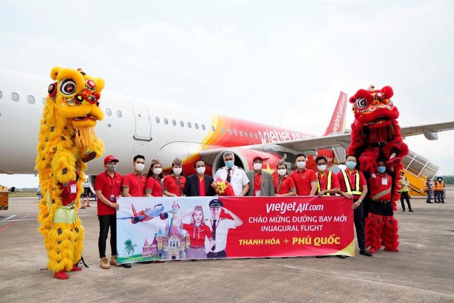 Bay từ Thanh Hoá,Nha Trang,Đà Lạt,Huế,Cần Thơ tới Phú Quốc đón hè sôi động