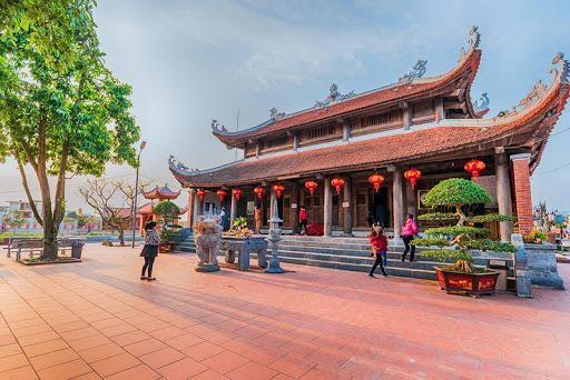 Đền Xã Tắc (phường Ka Long, TP Móng Cái). Ảnh: Báo Quảng Ninh