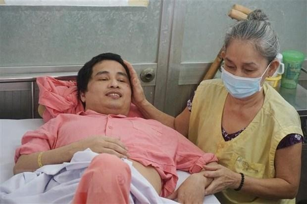 Anh Phan Hữu Nghiêm kết thúc 11 năm điều trị bệnh Hemophilia.