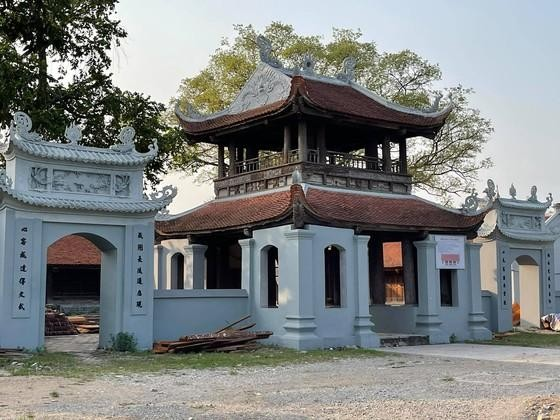 Di tích quốc gia chùa Đậu bị xâm hại.