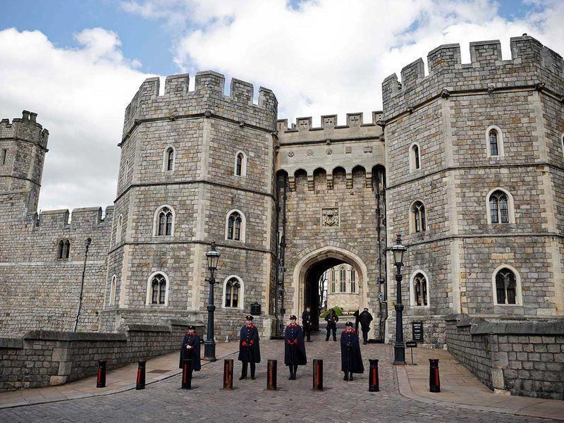 Lâu đài Windsor là nơi tổ chức tang lễ của Hoàng tế Philip. Ảnh: AFP