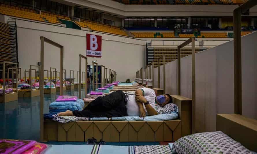 Một bệnh viện dã chiến được thiết lập tại thủ đô Bangkok của Thái Lan. Ảnh: Getty Images