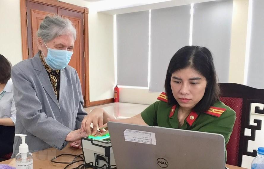 3 triệu người Hà Nội đã làm thủ tục cấp căn cước công dân