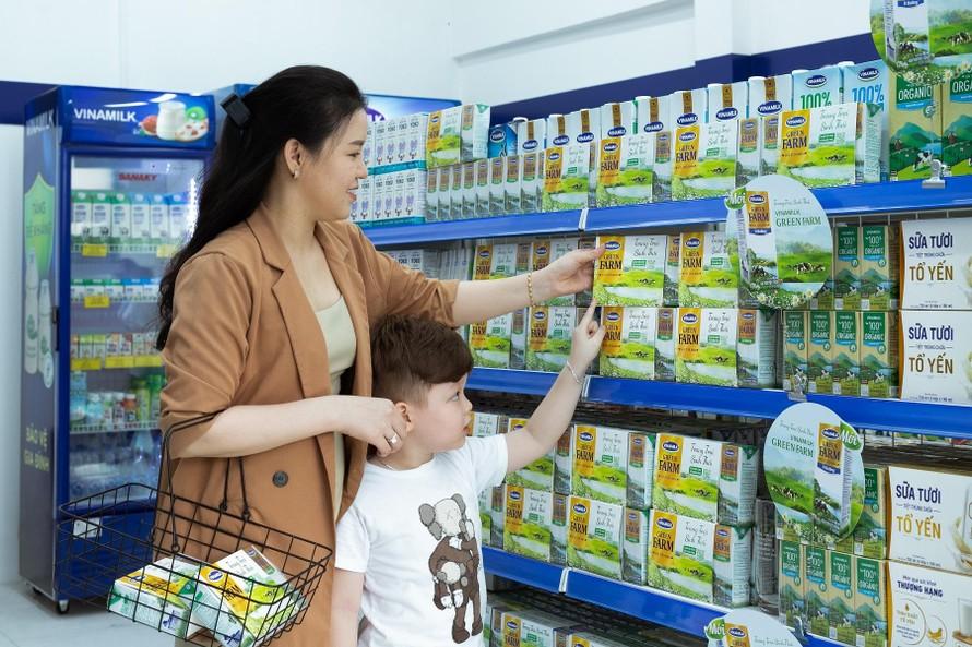 Sữa tươi Vinamilk Green Farm – sản phẩm mới nhất vừa được Vinamilk ra mắt đã có mặt tại các cửa hàng trên toàn quốc.