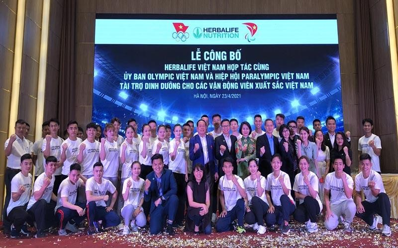 150 VĐV xuất sắc được hỗ trợ dinh dưỡng toàn diện từ Herbalife Việt Nam.