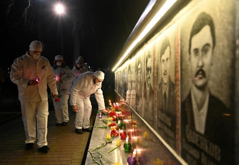 Ukraine kỷ niệm 35 năm thảm họa Chernobyl