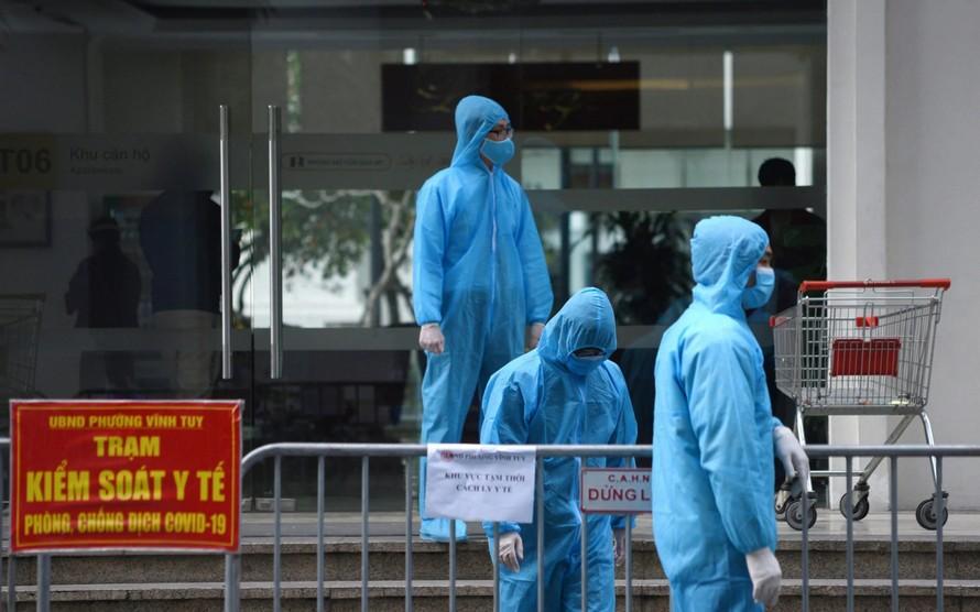 Hà Nội đề nghị nâng cảnh báo nguy cơ bùng phát dịch lên mức cao nhất