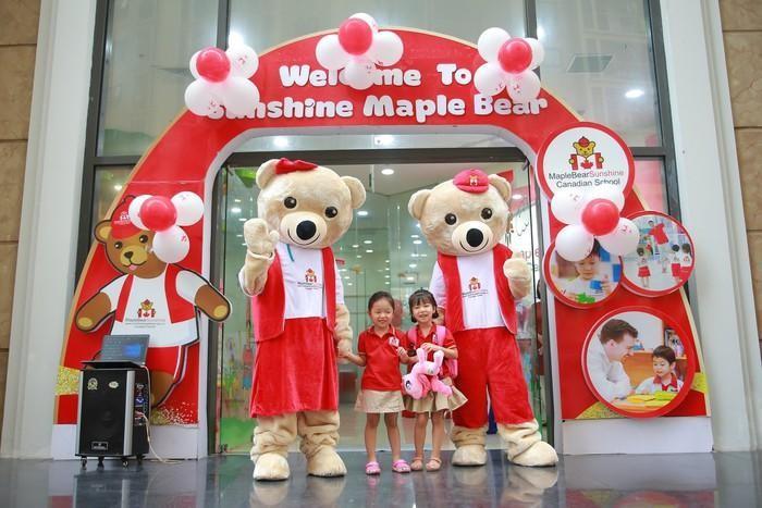 Hệ thống giáo dục Sunshine Maple Bear mang tinh hoa giáo dục Canada tới Việt Nam.