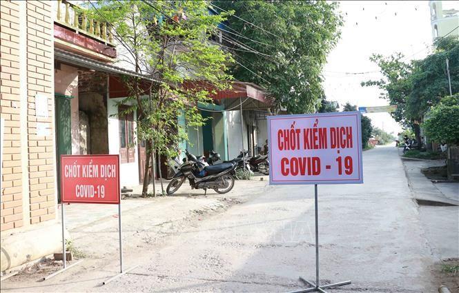 Hưng Yên phong tỏa khu phố có ca nghi mắc COVID-19