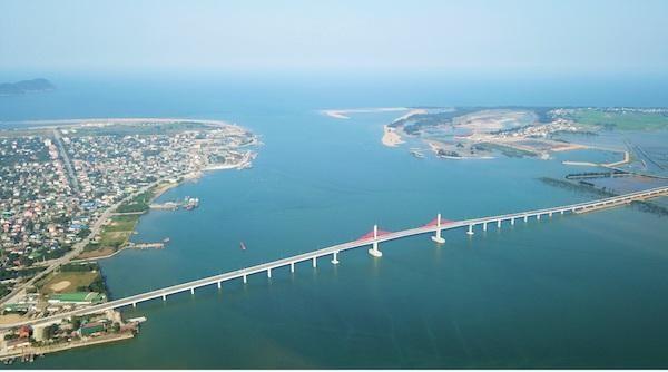 Cầu Cửa Hội là dự án giao thông trọng điểm mới nhất được khánh thành.