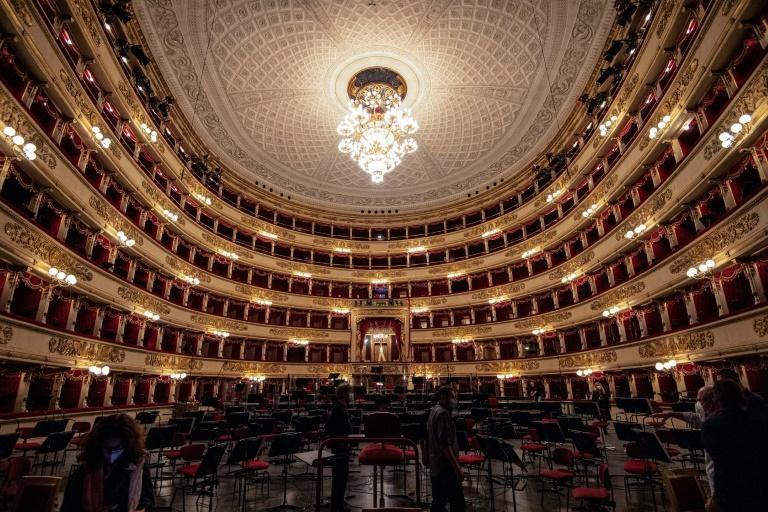 Nhà hát opera La Scala lần đầu đón khán giả trở lại