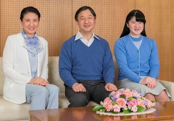 Gia đình Nhật hoàng Naruhito.