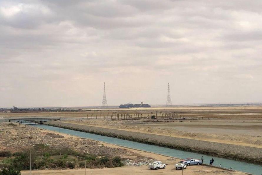 Ai Cập nạo vét kênh đào Suez
