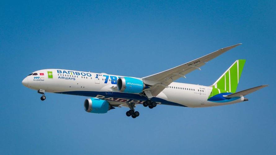 Hành khách có thể trải nghiệm chuyến đi trên dòng máy bay Boeing 7879-9 Dreamliner hiện đại của Bamboo Airways