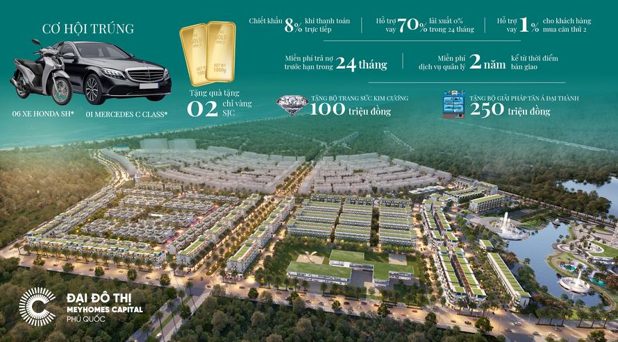 Trong tháng 5, chủ đầu tư ban hành chính sách bán hàng đặc biệt cho phân khu Olive dự án Meyhomes Capital Phú Quốc.