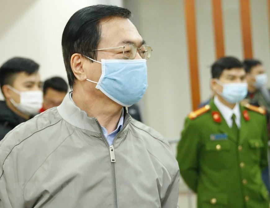 Ông Vũ Huy Hoàng kháng cáo xin giảm nhẹ hình phạt