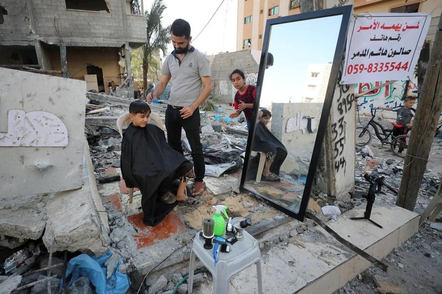 Mỹ cam kết viện trợ người Palestine