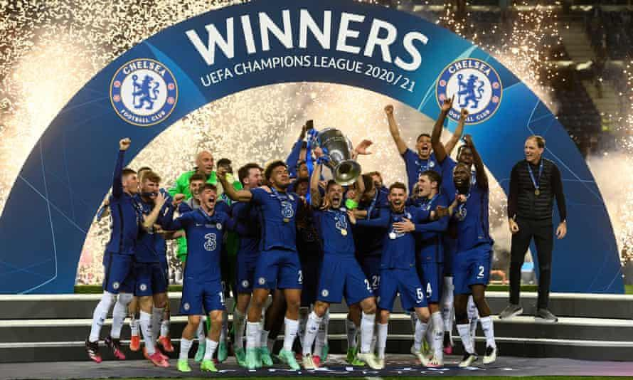 Chelsea vô địch Champions League lần thứ hai trong lịch sử