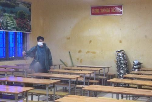 Hơn 13.500 học sinh lớp 12 tỉnh Vĩnh Phúc đi học từ ngày 31/5
