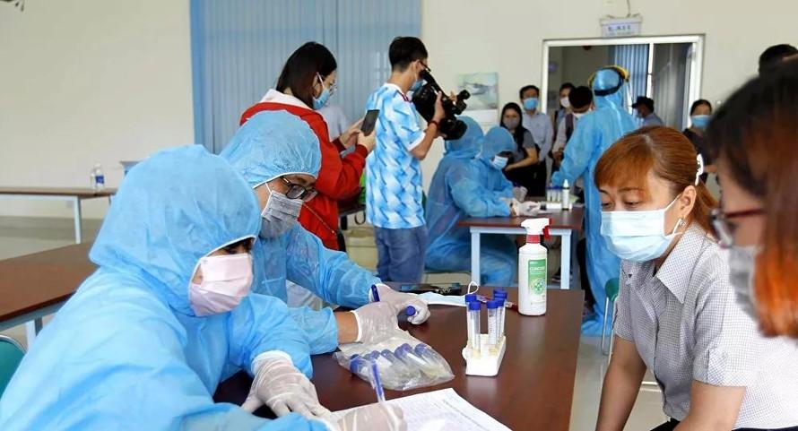 Quảng Ninh xét nghiệm đối với người về từ TP HCM
