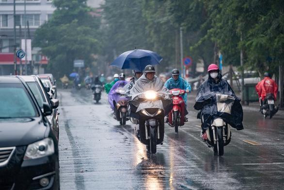 Bắc Bộ có mưa dông kéo dài hết tuần